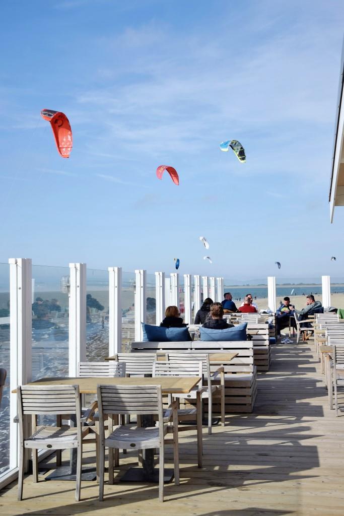 Beachclub Zee Kitesurfer