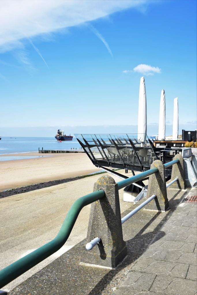 Vlissingen Strand Schiff