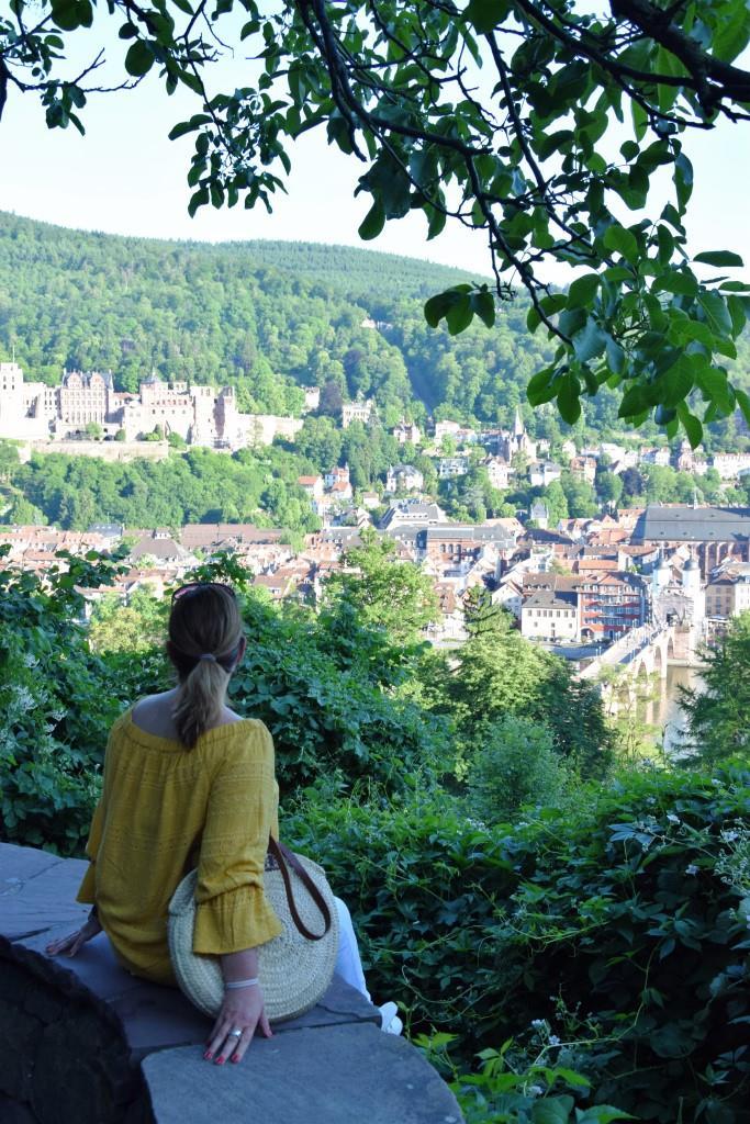 Aussicht Schloss Philosophenweg
