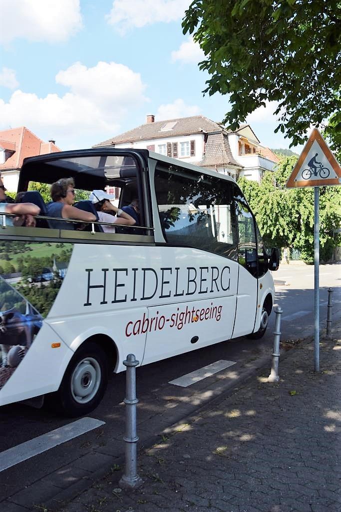 Heidelberg Cabrio Sightseeing