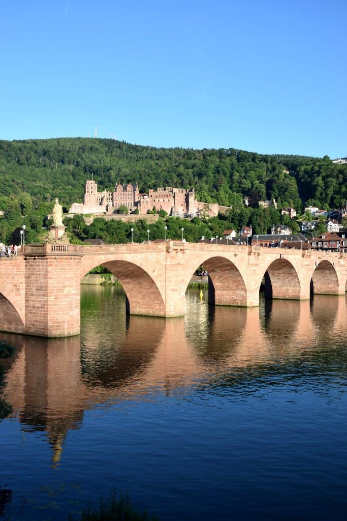 Heidelberg Alte Brücke Schloss