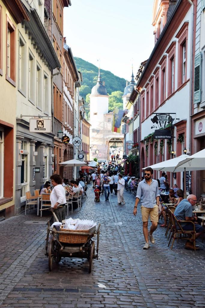 Heidelberg Altstadt Steingasse