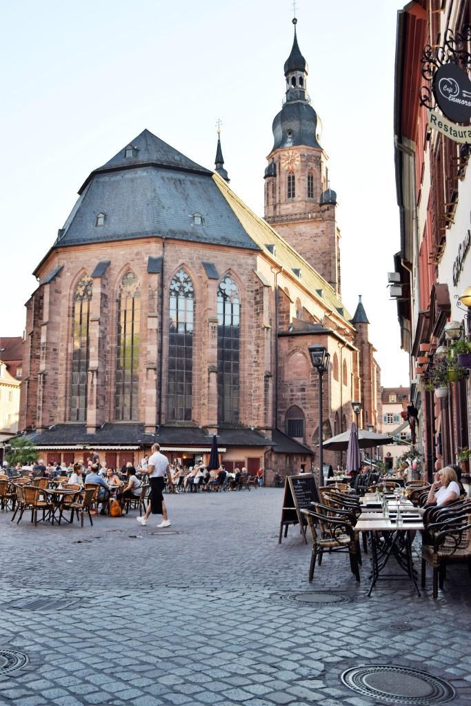 Heiliggeistkirche Heidelberg Marktplatz