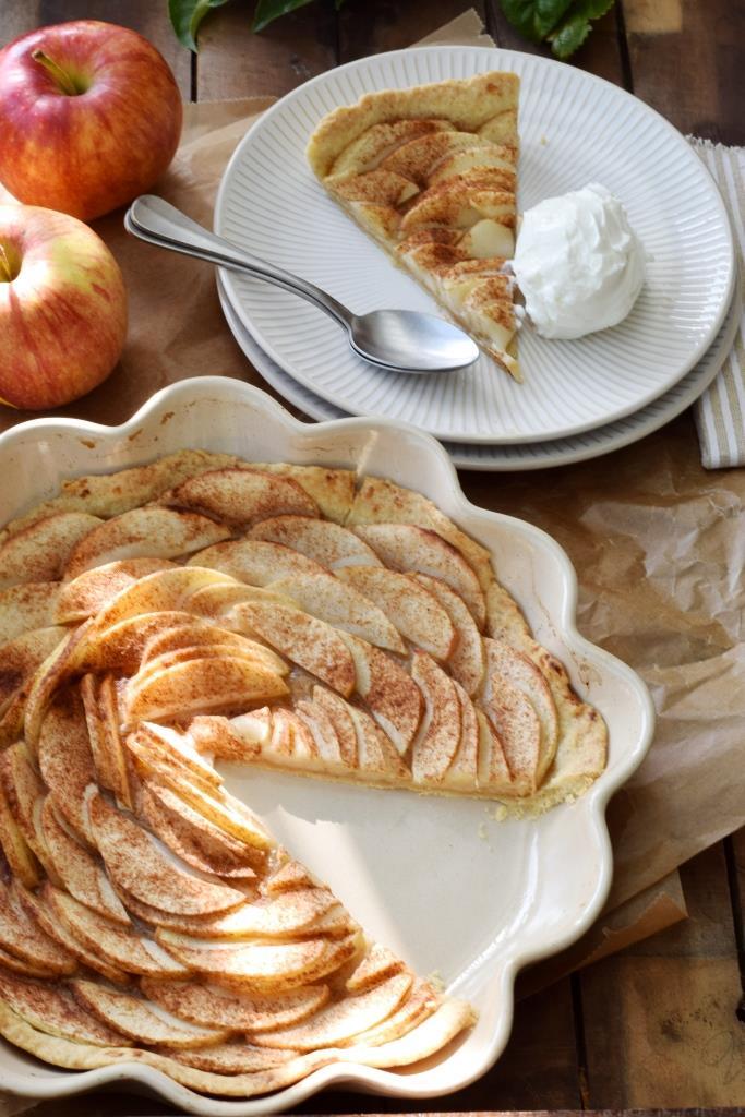 Apfeltarte Äpfel Herbst