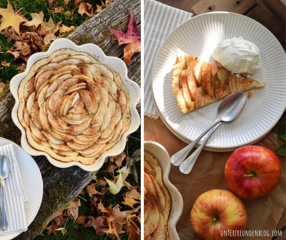 Herbst-Soulfood! Lieblingsrezept für eine ganz schnelle und einfacheApfeltarte