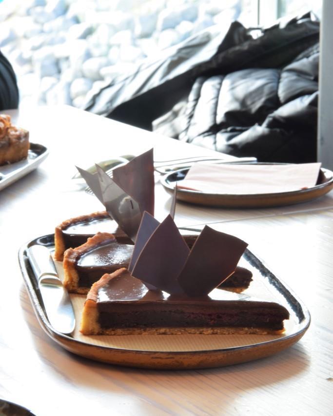 Schokokuchen Zeeland Café
