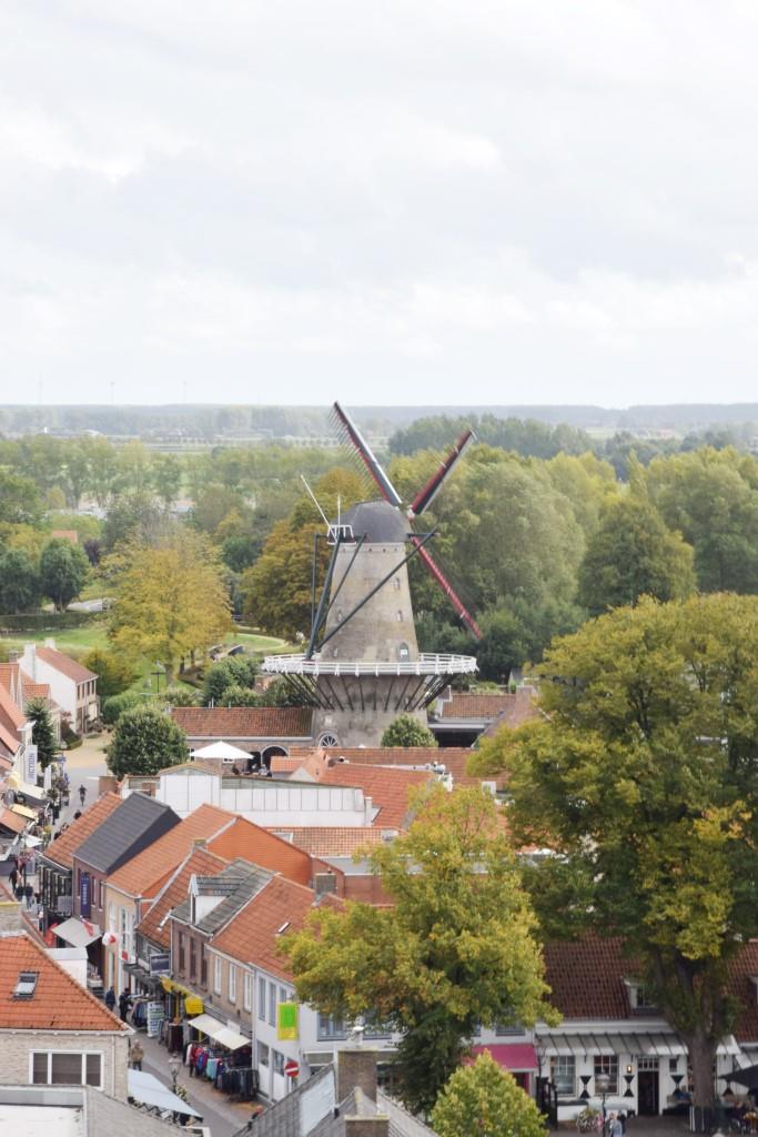 Aussicht Sluis Mühle