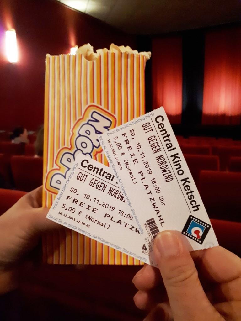 Popcorn Kino Kinokarten