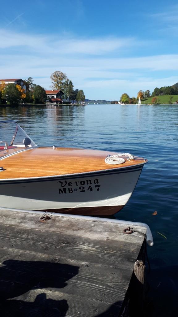 Motorboot Bootsverleih Tegernsee