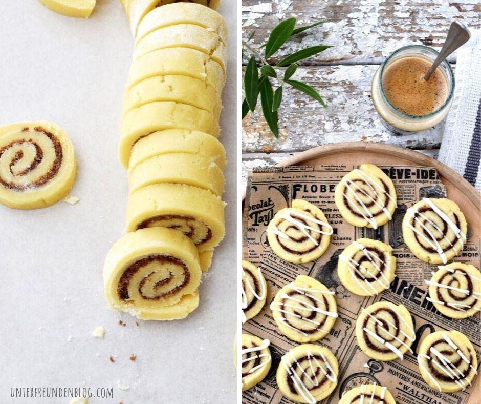 Zimtschnecken-Kekse zum schwedischen Zimtschneckentag – ein Feiertag nach meinemGeschmack!