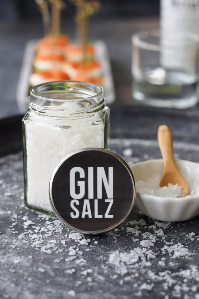 Gin Salt Salz homemade