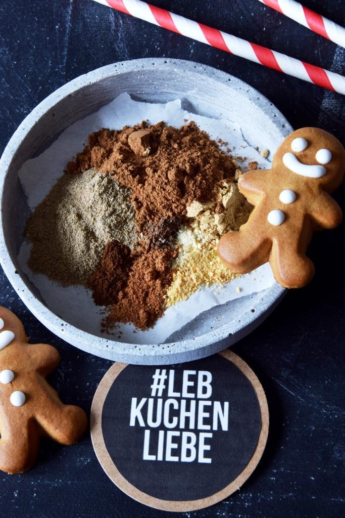 Lebkuchenmann Lebkuchengewürz Rezept