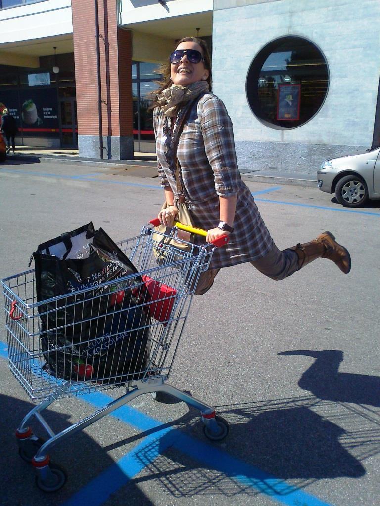 Shopping Cart Jump