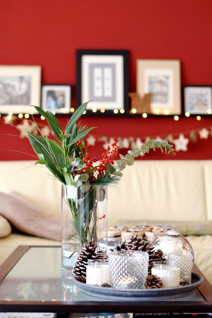 Weihnachtsdeko Blogger Home