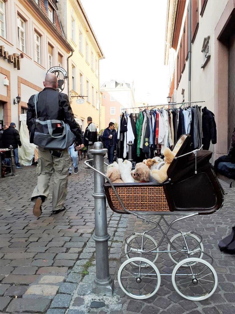 Flohmarkt Altstadt Heidelberg