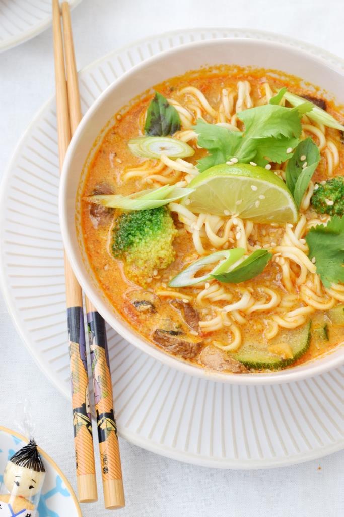 Rezept Thai-Nudelsuppe