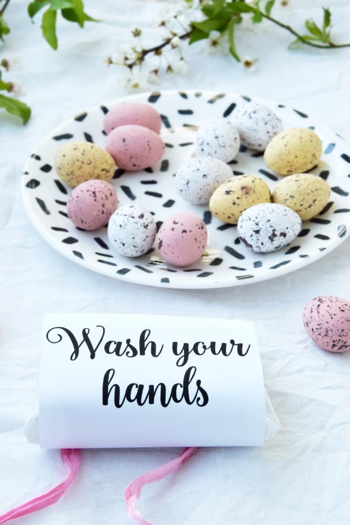 Soap Wash your hands