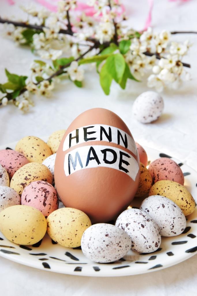 Ostern Osterdeko Eier
