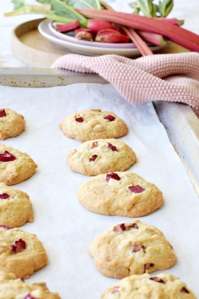 Rhabarber Cookies Rezept