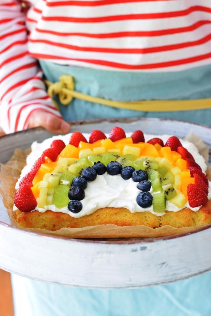 Bäcker Regenbogen Kuchen