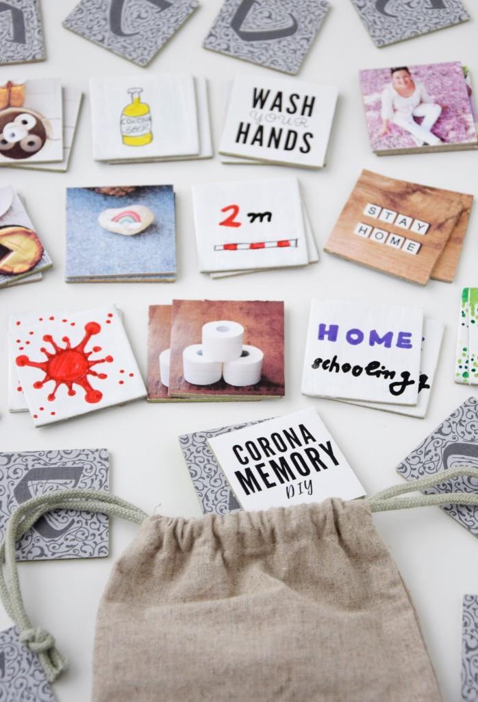 Corona Memory DIY