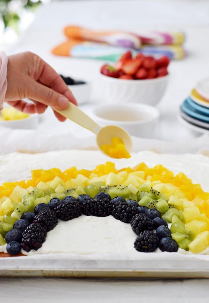Rainbow Cake Corona