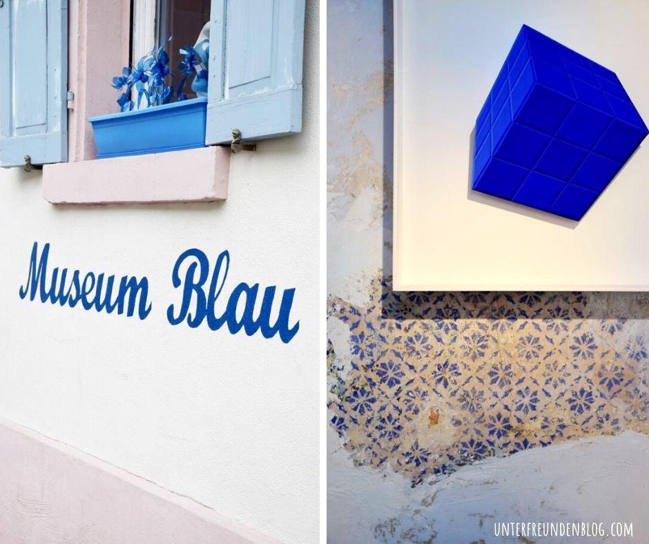 Heute mache ich BLAU! Mein Besuch im Museum Blau inSchwetzingen