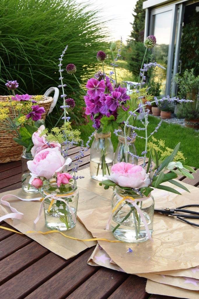 Blumenwerkstatt Garten Sommer