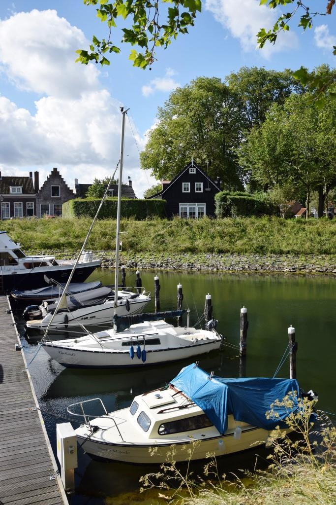 Veere Hafen Boote