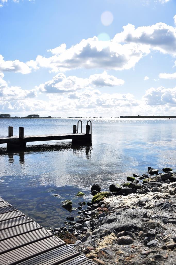 Holzsteg Meer Zeeland
