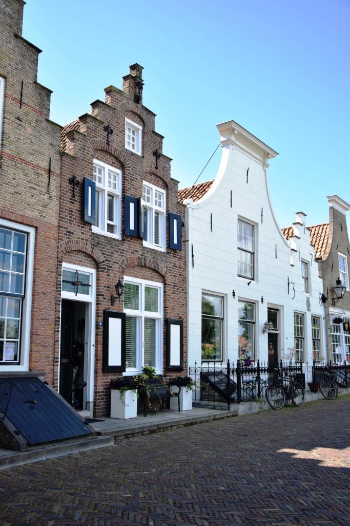 Häuser Hafen Zeeland