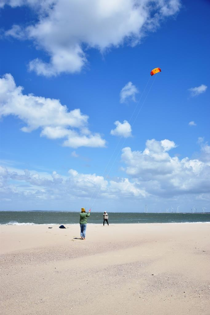 Drachen Strand Zeeland