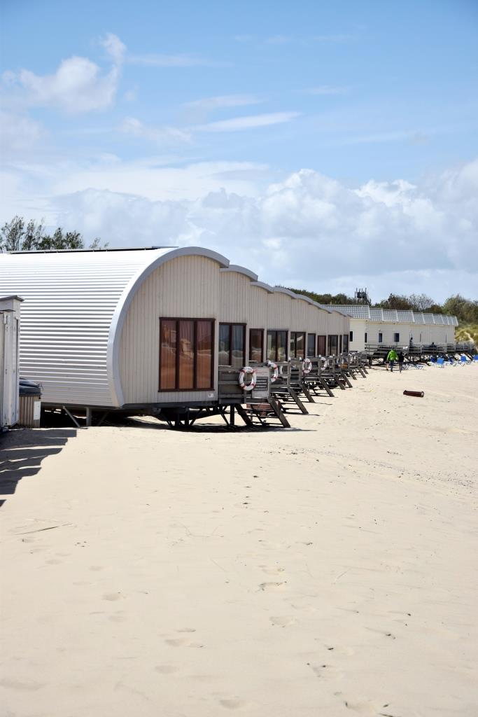 Beach Häuser Zeeland