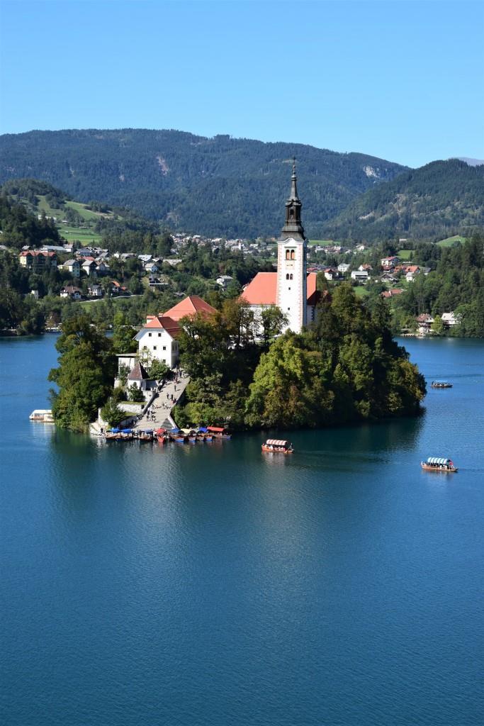 Insel Bleder See