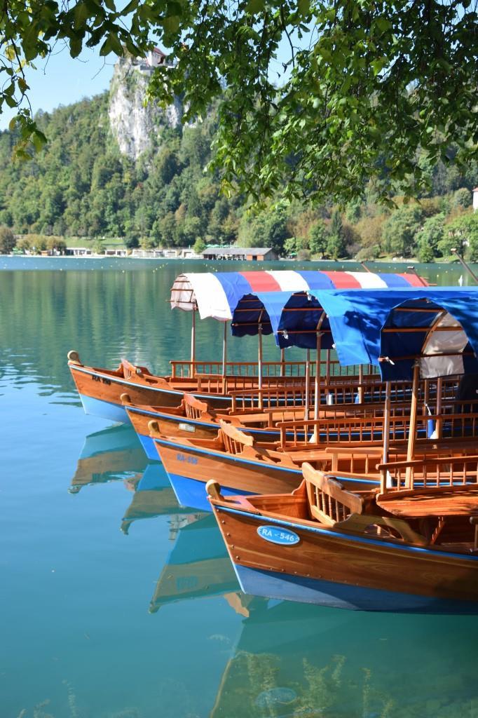 Pletna Boote Bled
