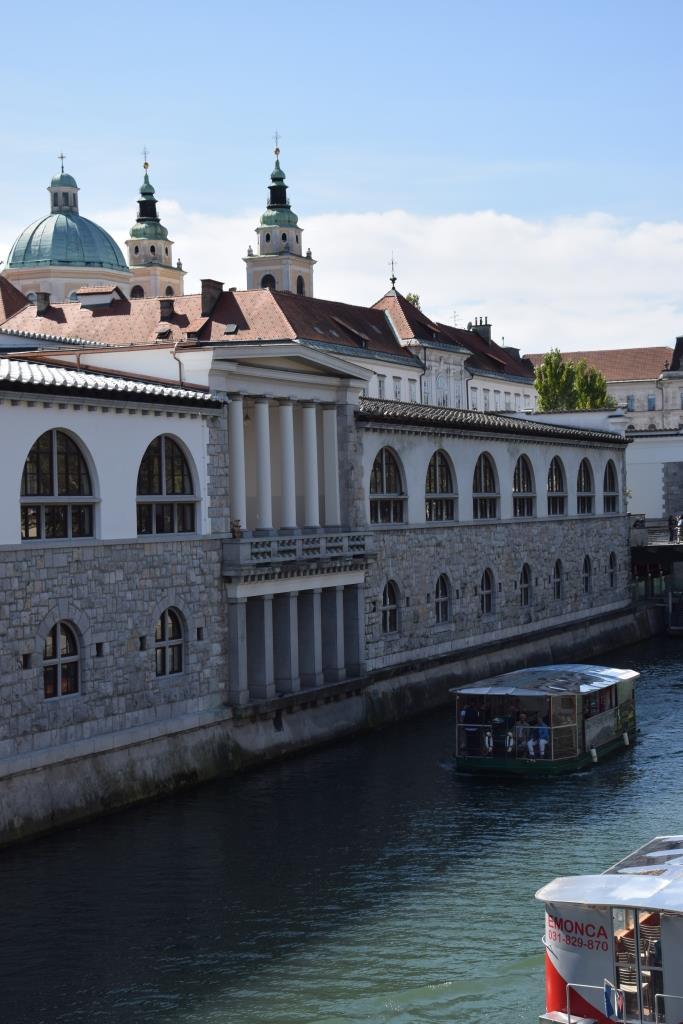 Bootsfahrt Fluss Ljubljana
