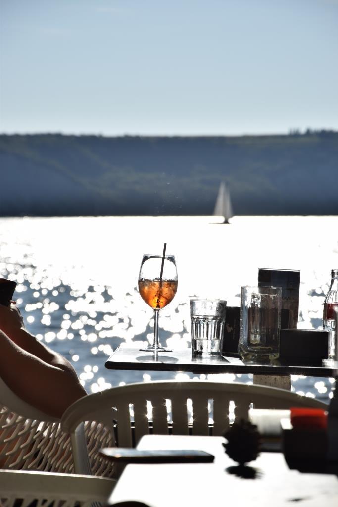 Cocktails am Meer