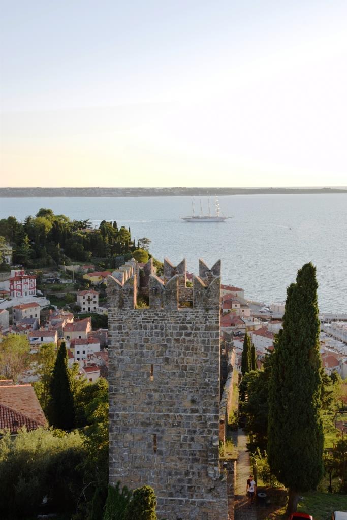 Stadtmauer Piran