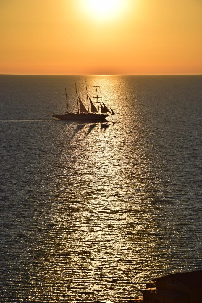 Sunset Cruise Sailboat