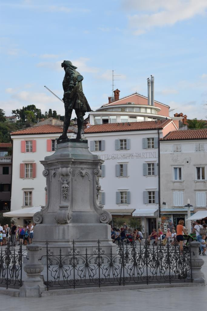 Tartini Statue Piran