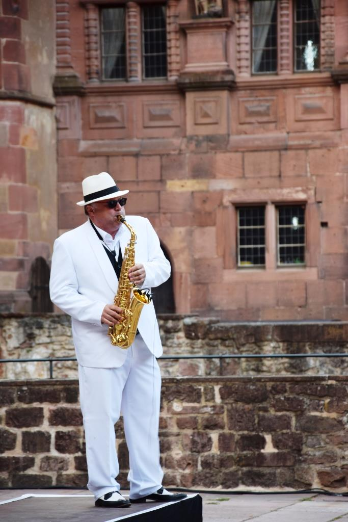 Saxophon Spieler Heidelberg