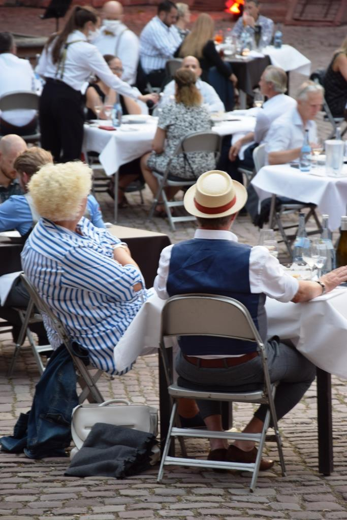 Sommer Open Air Restaurant Heidelberg Schloss