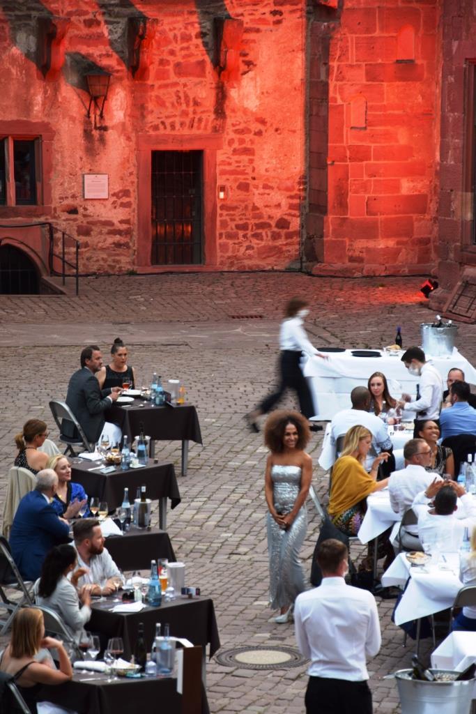 Musikprogramm Schlosshof Heidelberg