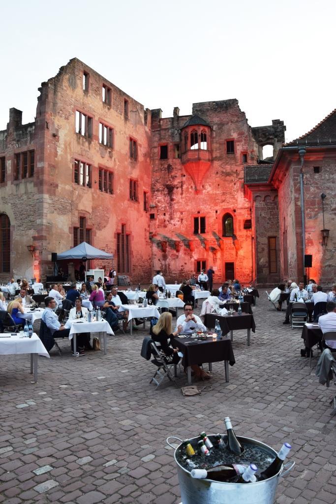 Schlossgastronomie Heidelberg Sommer