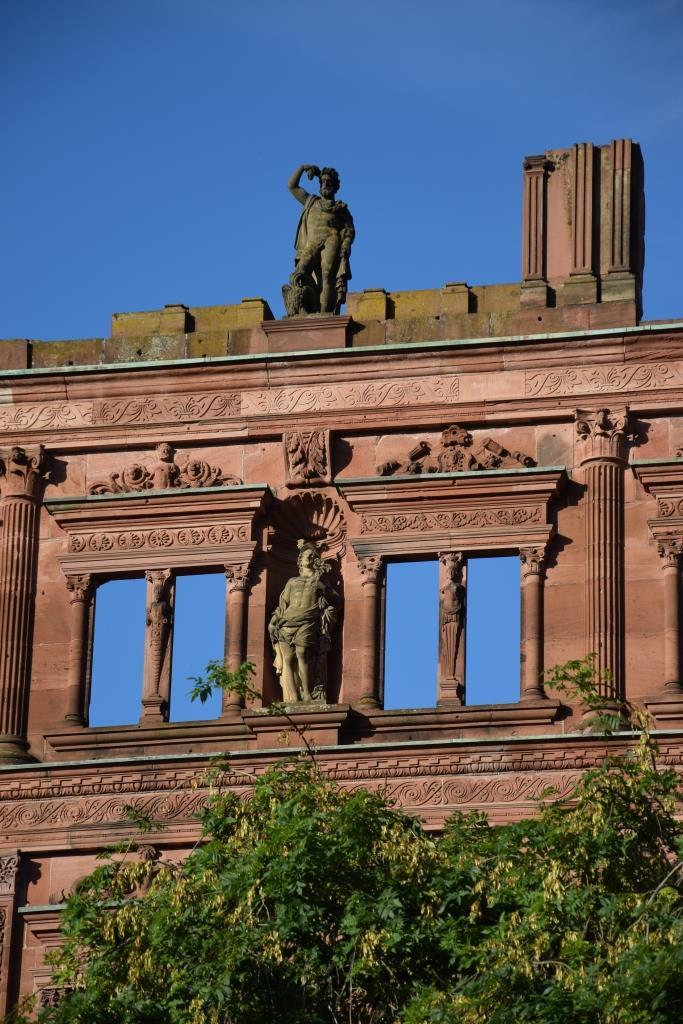 Schloss Heidelberg Ruine
