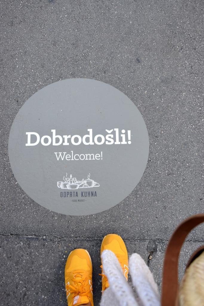 Welcome Foodmarket Ljubljana