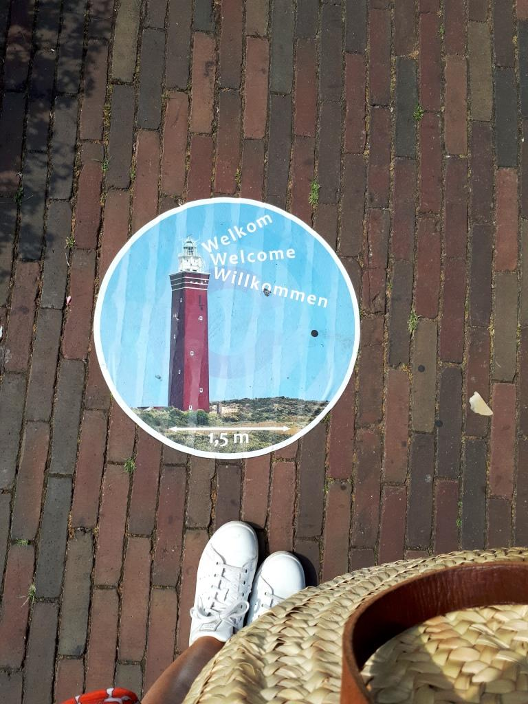 Abstand Ouddorp Niederlande