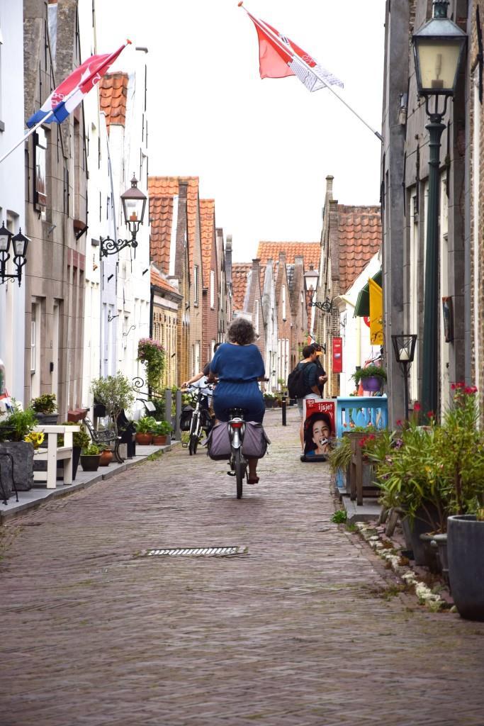 Radfahren Holland Dorf