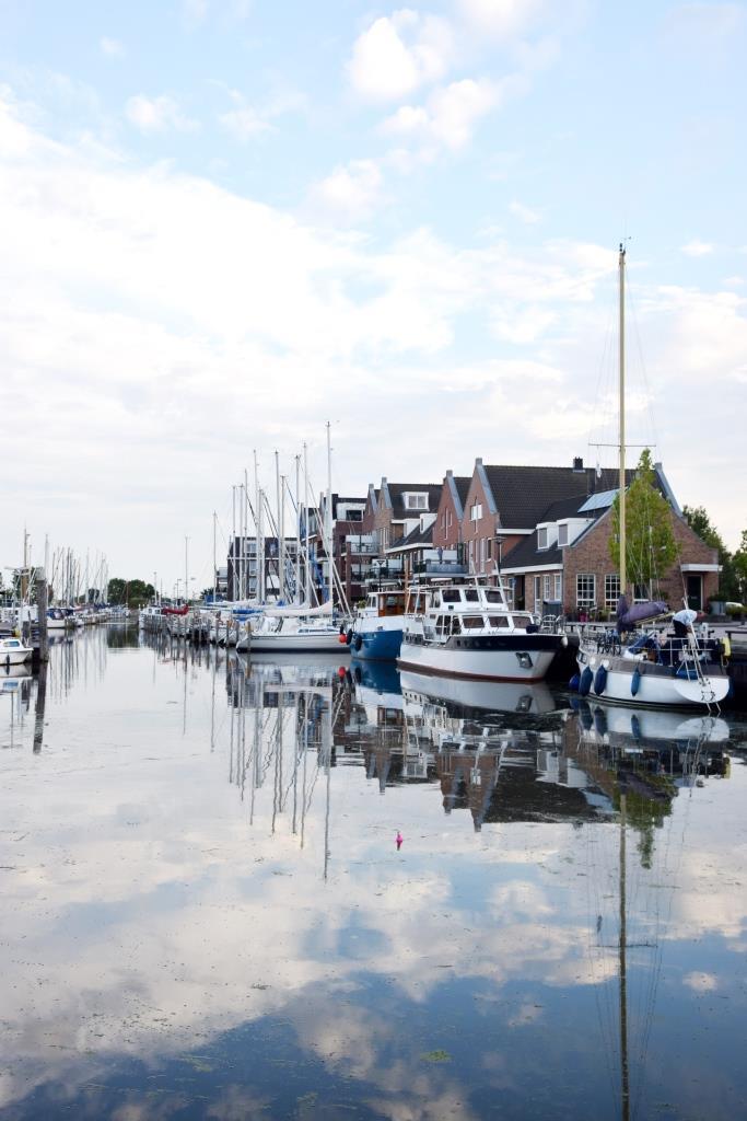 Hafen Oude-Tonge Südholland