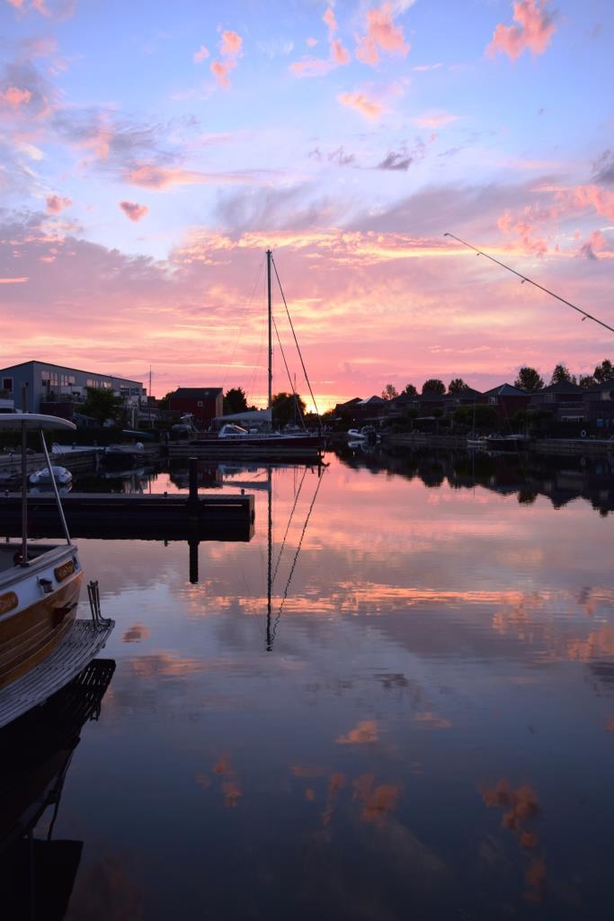 Sonnenuntergang Holland Zeeland